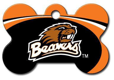 Oregon State Beavers Dog ID Tag - Custom Engraved