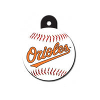 Baltimore Orioles Dog ID Tag