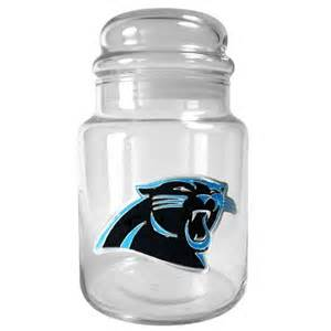 Carolina Panthers Dog Treat Jar