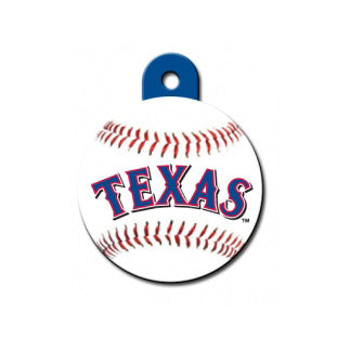 Texas Rangers Engravable Dog I.D. Tag