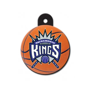 Sacramento Kings Dog ID Tag-Custom Engraved