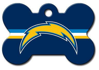 Los Angeles Chargers Dog ID Tag- Custom Engraved