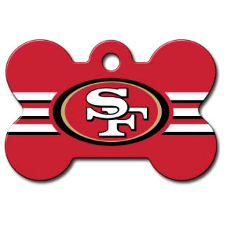 San Francisco 49ers Dog ID Tag- Custom Engraved