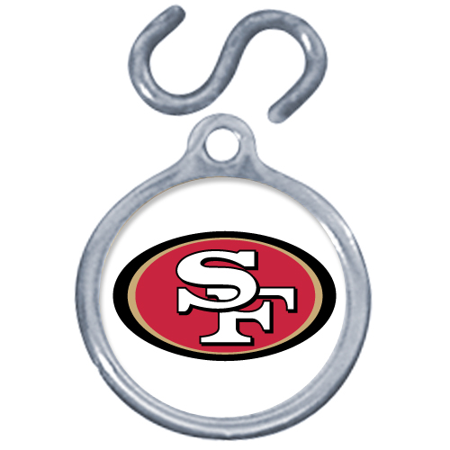 San Francisco 49ers Dog Instant ID Tag