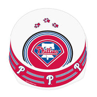 Philadelphia Phillies Dog Bowl-Plastic