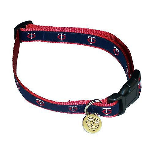 Minnesota Twins Dog Collar-Ribbon