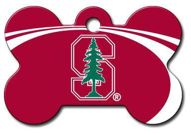 Stanford Cardinals Dog ID Tag - Custom Engraved