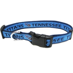 Tennessee Titans Dog Collar-Premium