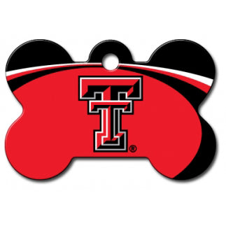Texas Tech Red Raiders Dog ID Tag - Custom Engraved