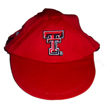 Texas Tech Red Raiders Dog Cap-Deluxe