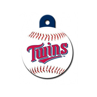 Minnesota Twins Engravable Dog I.D. Tag