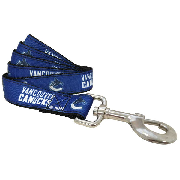 Vancouver Canucks Dog Leash-Ribbon