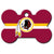 Washington Redskins Dog ID Tag- Custom Engraved