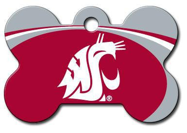 Washington State Cougars Dog ID Tag - Custom Engraved