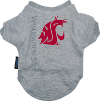 Washington State Cougars Dog Tee Shirt