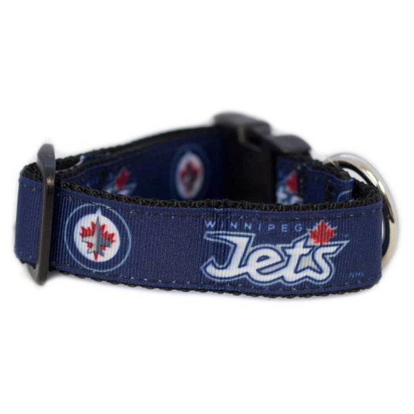 Winnipeg Jets Dog Collar-Premium