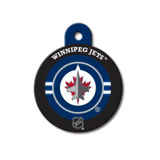 Winnipeg Jets Engravable Dog I.D. Tag