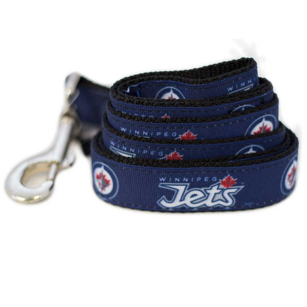 Winnipeg Jets Dog Leash-Ribbon
