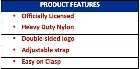 licensed dog harness product features