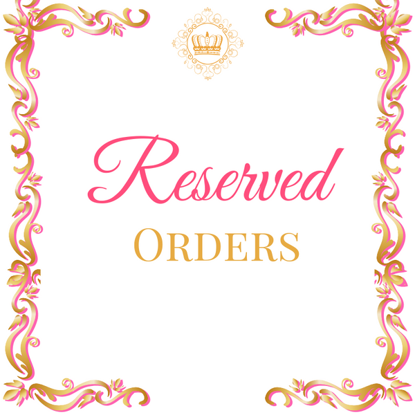 Reserved Orders