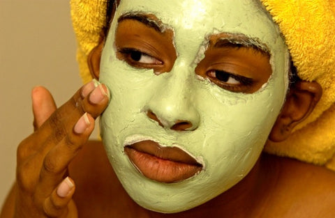 How to shrink large pores with a clay mask by Beauty Mixtress
