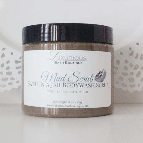 Dead Sea Mud Body Scrub by Luxurious Bath Boutique