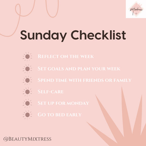 Self Care Sunday - Do Something Different by Beauty Mixtress™