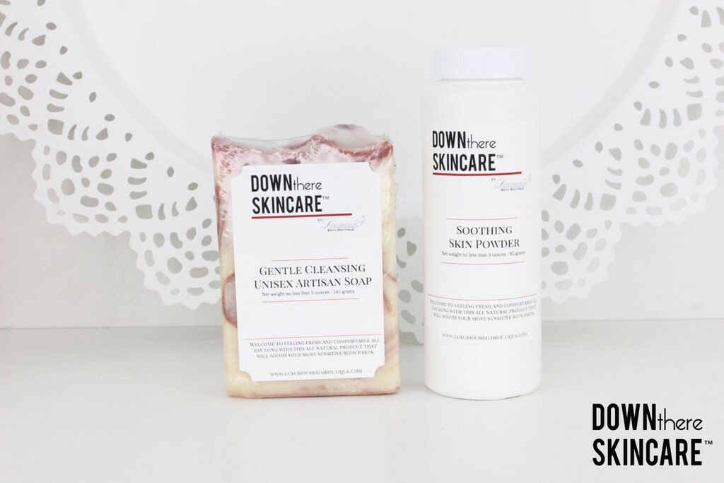 6 Month Auto Ship Program - Down There Skincare®️ Artisan Soap & Powder Set