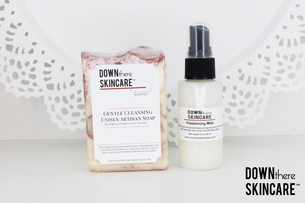 6 Month Auto Ship Program - Down There Skincare™ Artisan Soap & Freshening Mist Set