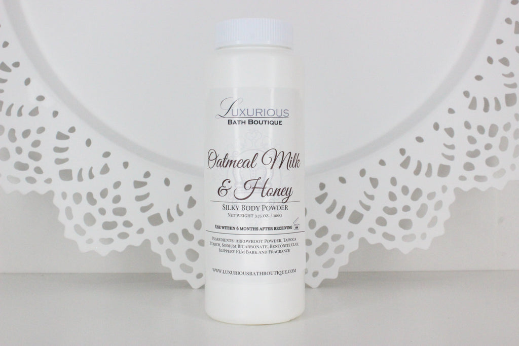 Oatmeal Milk & Honey Silky Body Powder
