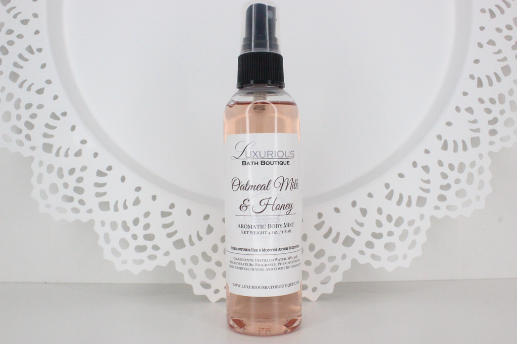 Oatmeal Milk & Honey Aromatic Body Mist