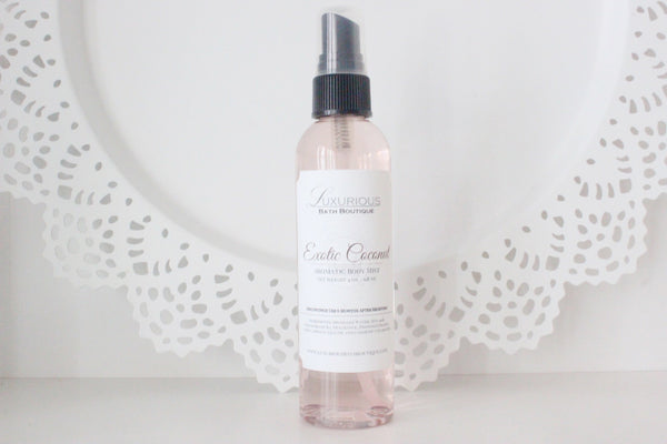 Exotic Coconut Aromatic Body Mist