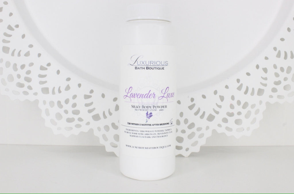 Lavender Luxe Silky Body Powder