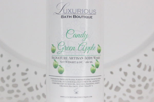 Candy Green Apple Body Wash