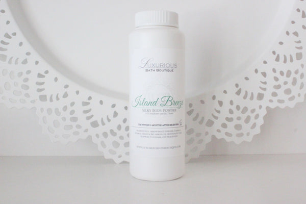 Island Breeze Silky Body Powder