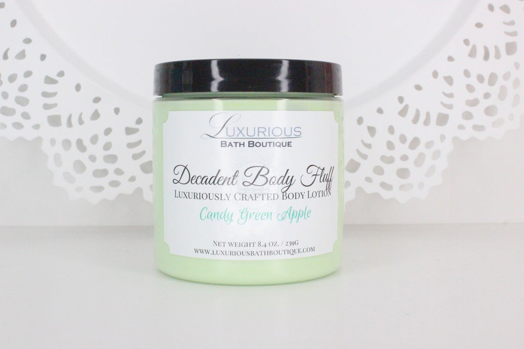 Candy Green Apple Decadent Body Fluff