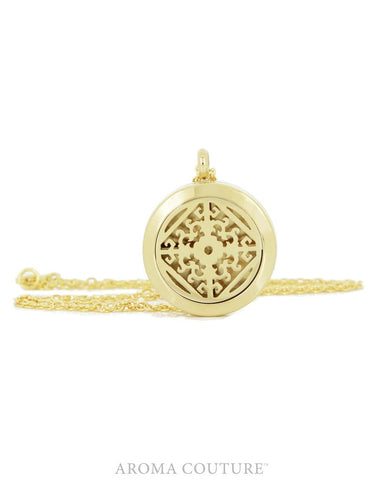 Victoria Gold 25mm Diffuser Necklace