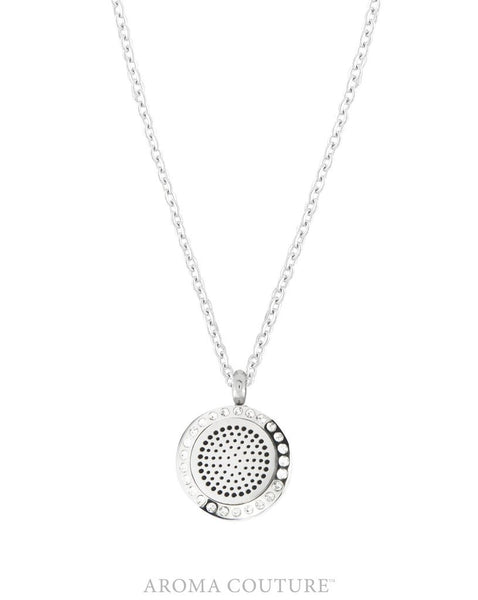 Posh 1 Silver 20mm Diffuser Necklace