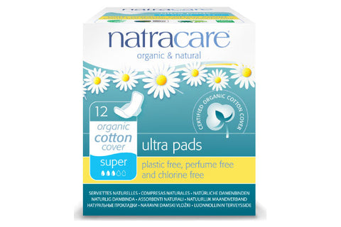 natracare Ultra Pads with Wings