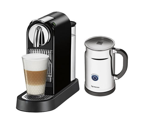 Nespresso - Citiz D111 ECO Single-Serve Coffeemaker with Aero+ - Limousine Black