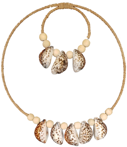 Small Cowrie Shell Tribal Necklace