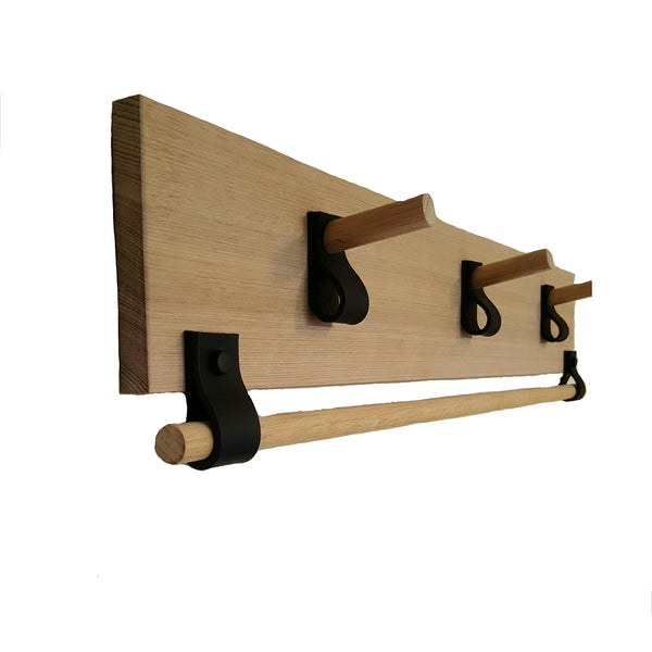 Leather Accessory Rack