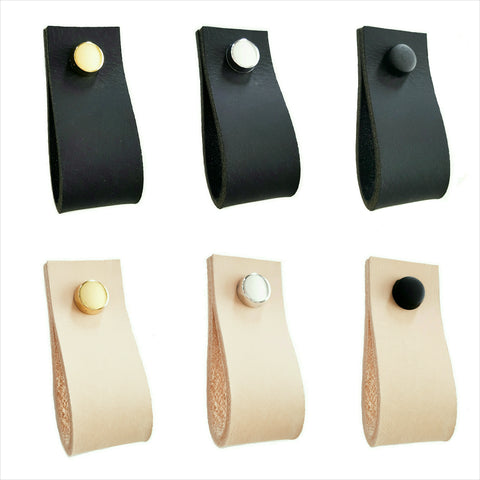 Leather Drawer Pulls