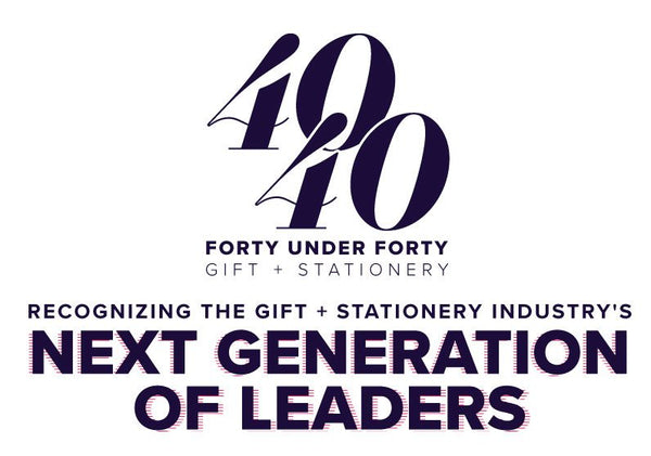 We WON! 40 under 40 Gifts & Stationery 2017!