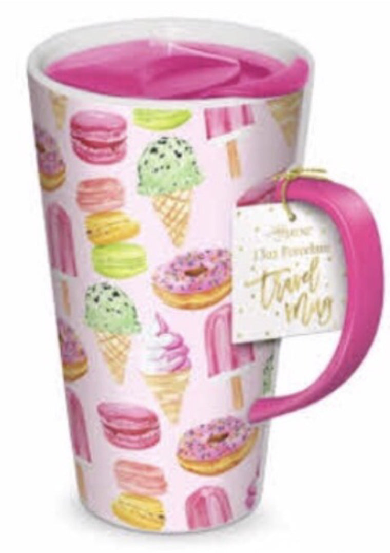 Travel Mug- Sweet Treats