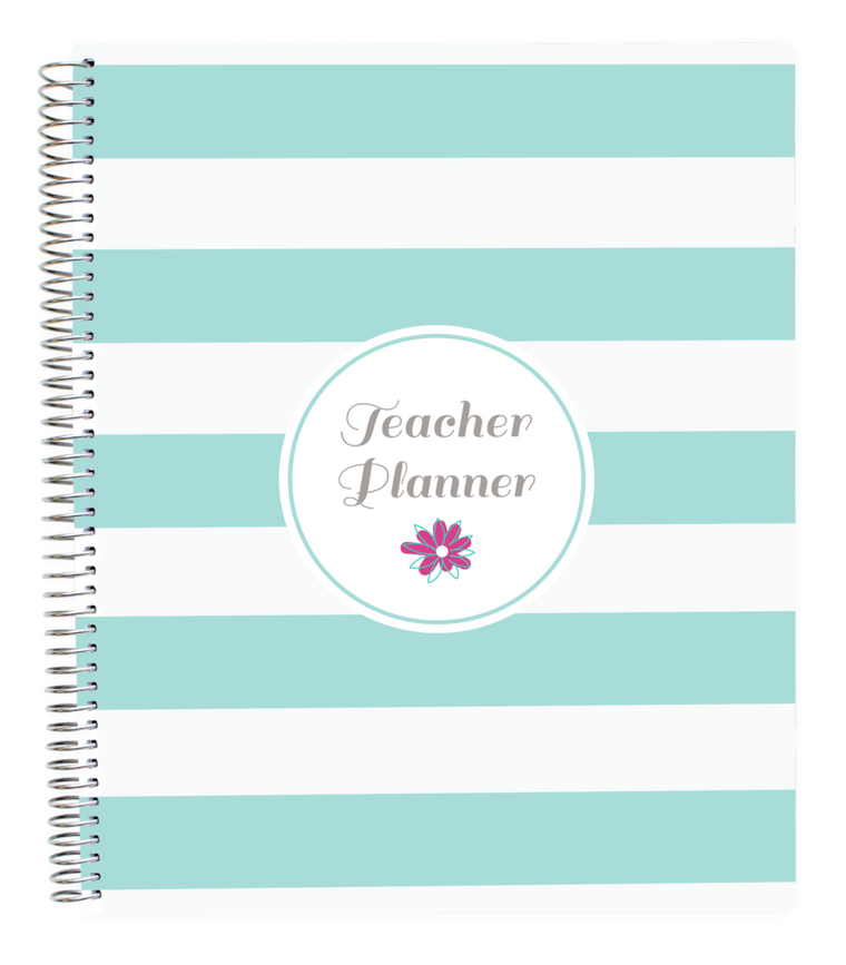 UNDATED TEACHER PLANNER, STRIPES