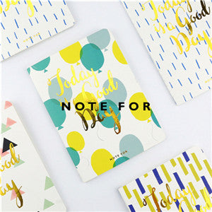 4pcs/lot Creative Trends Printed Notebook Soft Copybook Daily Memos Diary Colorful Organizer Planner Book Note Book