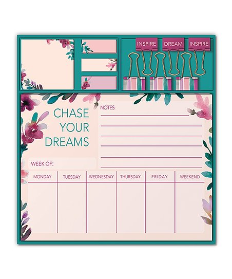 'Chase Your Dreams' Stationery Set