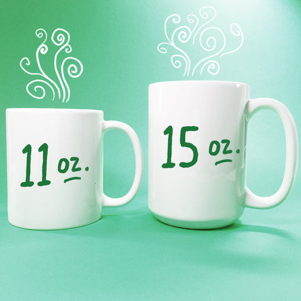 Too Many Lists To Count Hand Lettering Mug