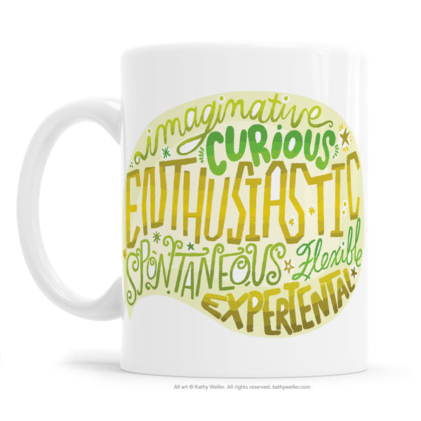 ENFP Personality Type Mug